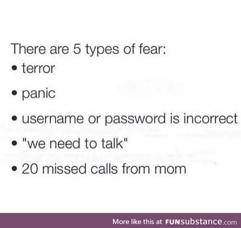 Fear is a Powerful Thing