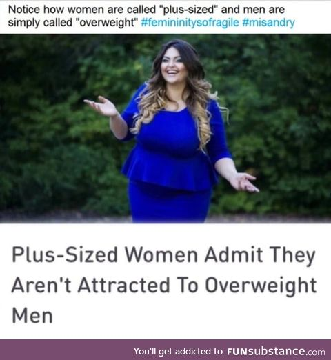 """Where are all the """"Plus-Size"""" brothers at?"""