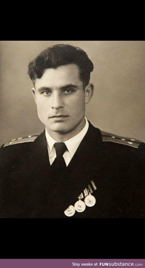 Vasili Arkhipov (1960's). During the Cuban Missile Crisis a false alarm of nuclear