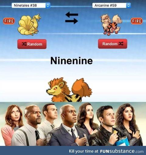 Nine nine!!