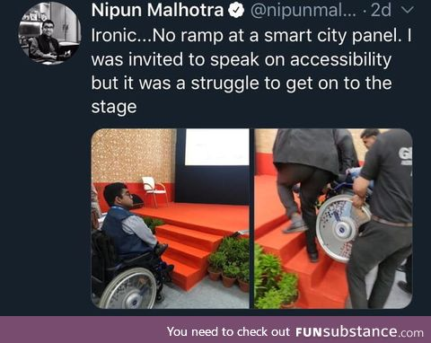 Accessibility event without accessibility