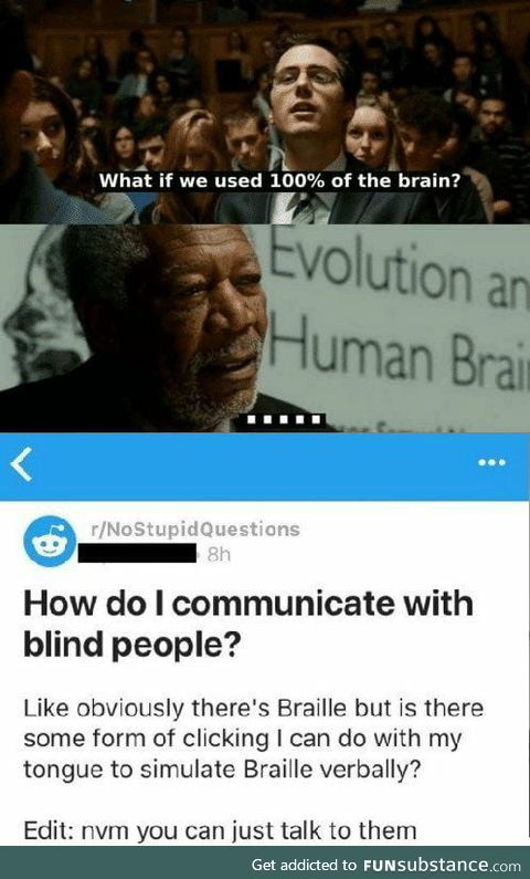 What if brain used 100% of us?