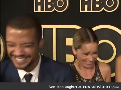 Dany and Grey Worm hear the bells ringing