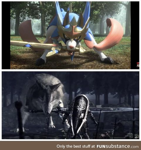 Thought the new Pokemon looked familiar