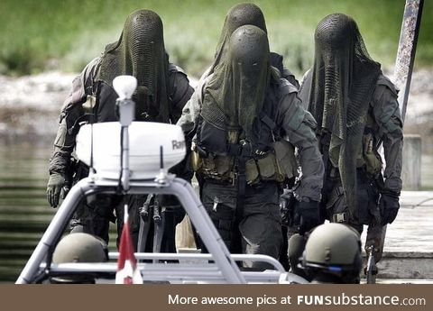 Danish special forces are absolutely terrifying