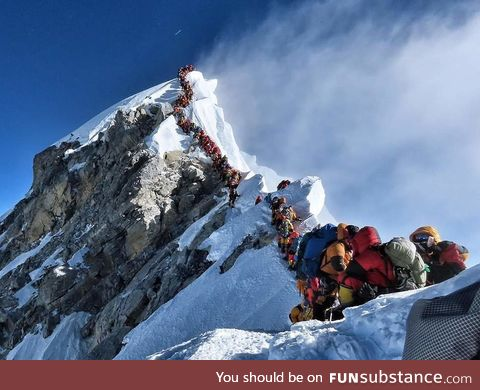 You must pay the toll to summit Mount Everest