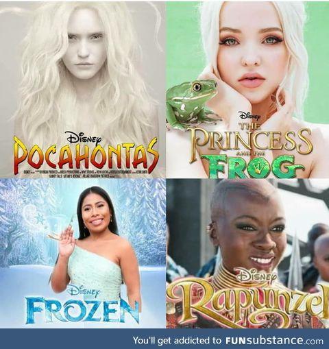 Disney live action starter pack
