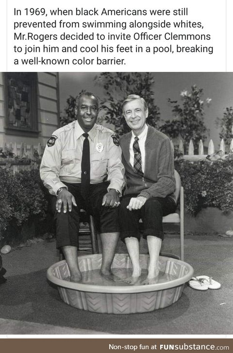 Mr. Rogers was the best