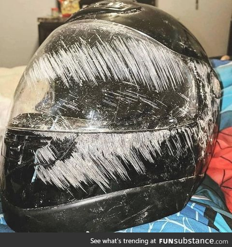 This is why your wear a helmet