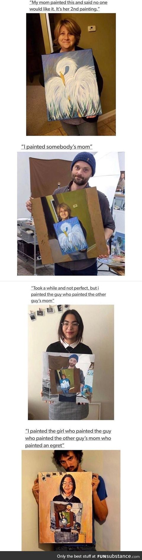 Some talented painters that have too much time