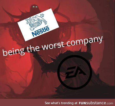 Nestle bad
