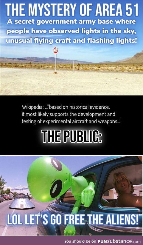 Area 51 aliens