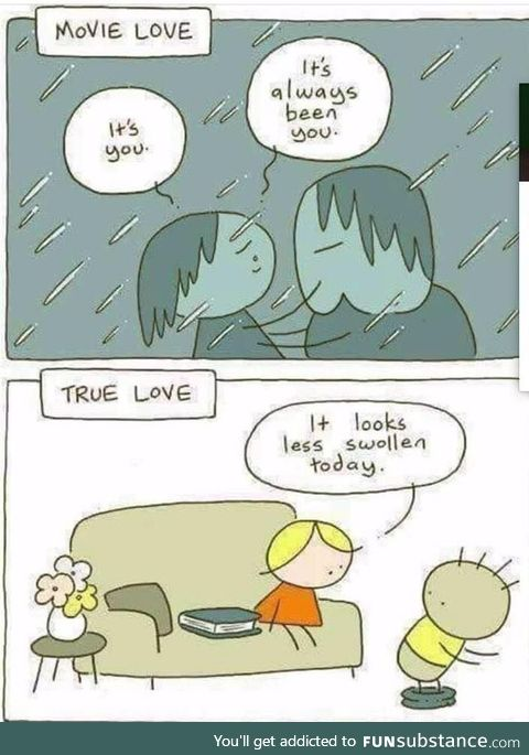 Movie Love vs True Love