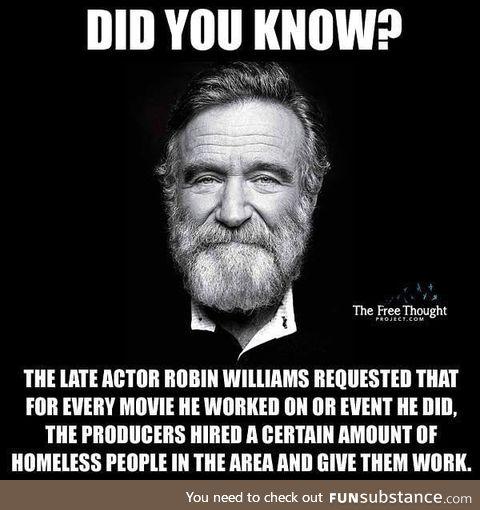 Robin Williams was a good man