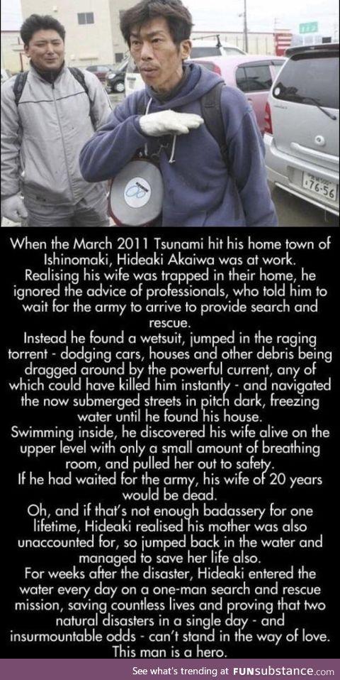 Amazing heroism