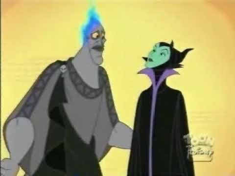 Apparently Disney wanted to have Hades and Maleficent together for a long time.