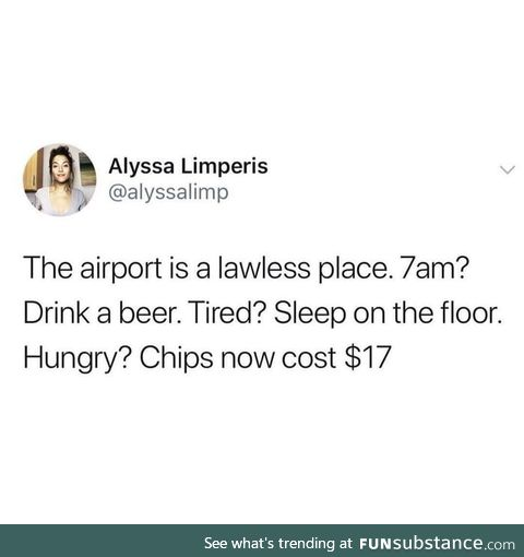 Lawless airports