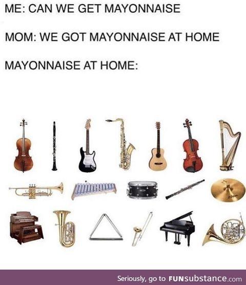 Where is the goddam horseradish