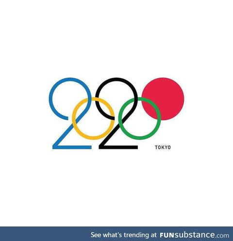 This Japan 2020 Olympic logo