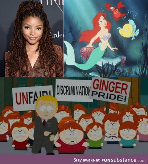 Ariel in the Little Mermaid remake