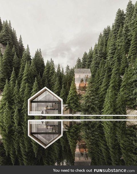 Hidden away in the mountains of Switzerland