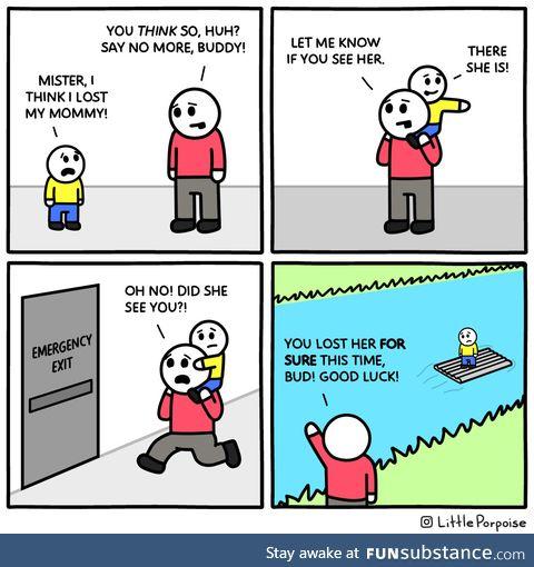 The mediocre samaritan