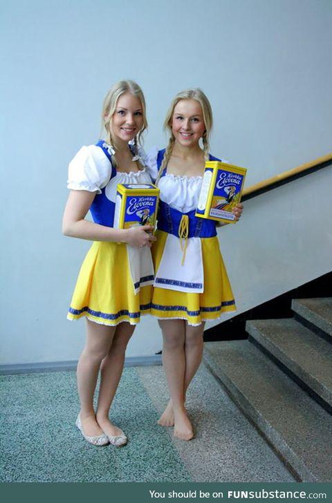 Beatiful Finnish Elovena girls :3