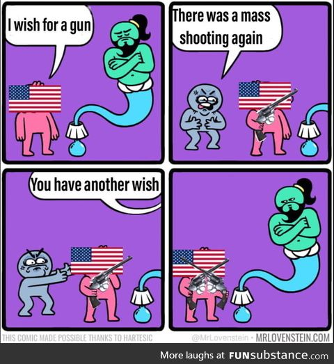 How the USA gonna deal with mass shootings