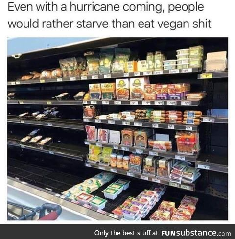 Even with a hurricane coming