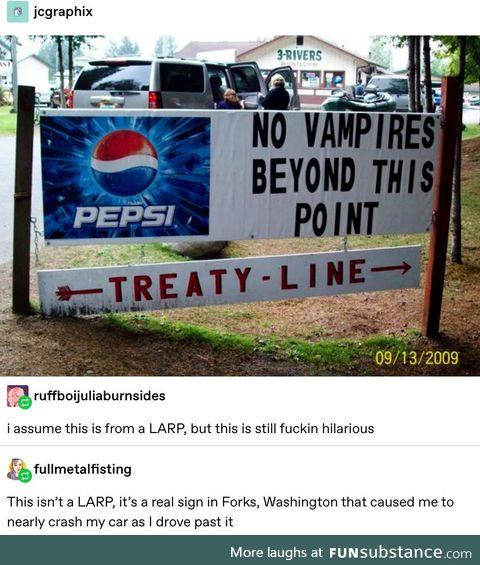 Pepsi maintains the balance