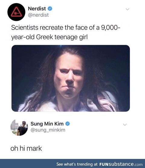 Haha, what a story mark