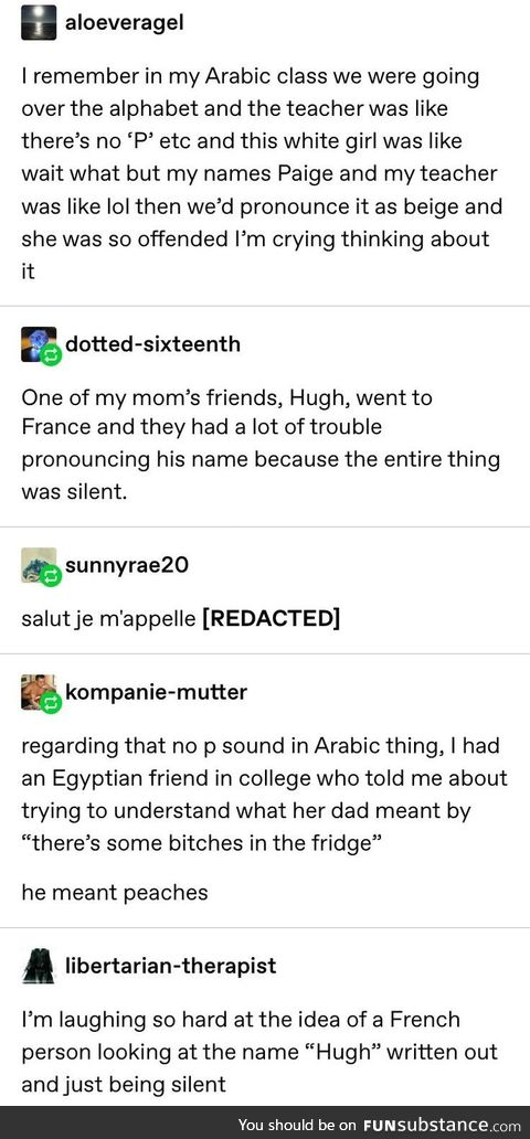 Fun with languages