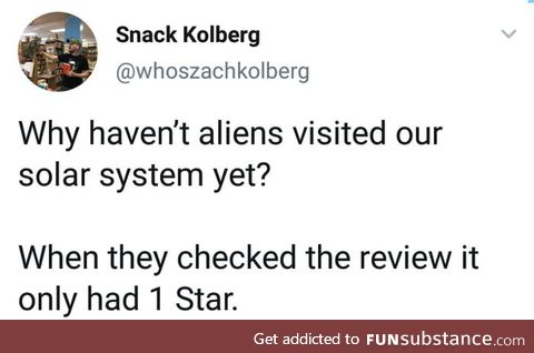 Lol, such poor ratings