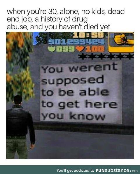 *Error* will to live not found