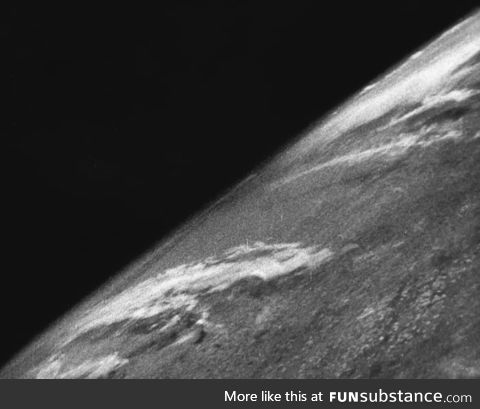 First photo of Earth taken from space in 1946