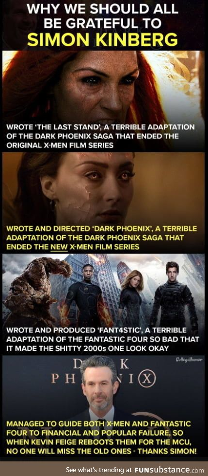We can finally get the films the fans deserved