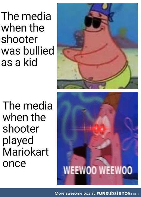 Gotta love the media