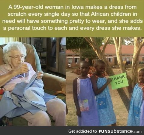 Wholesome grandma :)