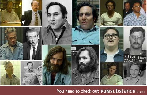 The casting in this show for the serial killers is just incredible