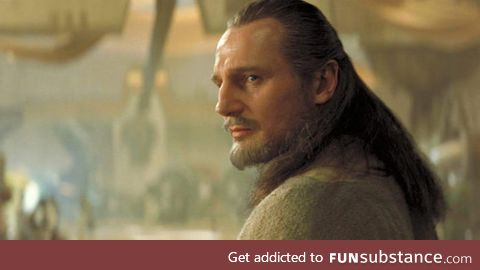 Happy 67th birthday to Liam Neeson, who played the most Jediest Jedi of all the Jedi