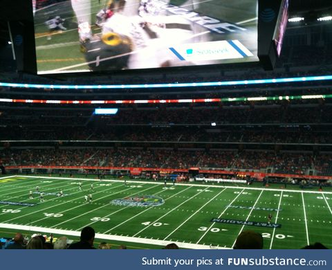 I still cannot get over how big that screen is.