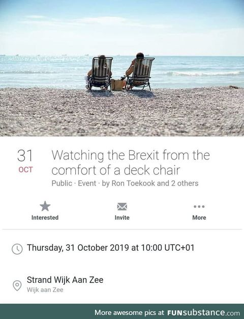 11.000 people said they'd watch as England wakes up outside the EU from Holland with