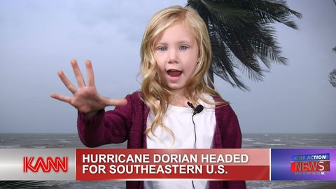 Hurricane Dorian update by kids!