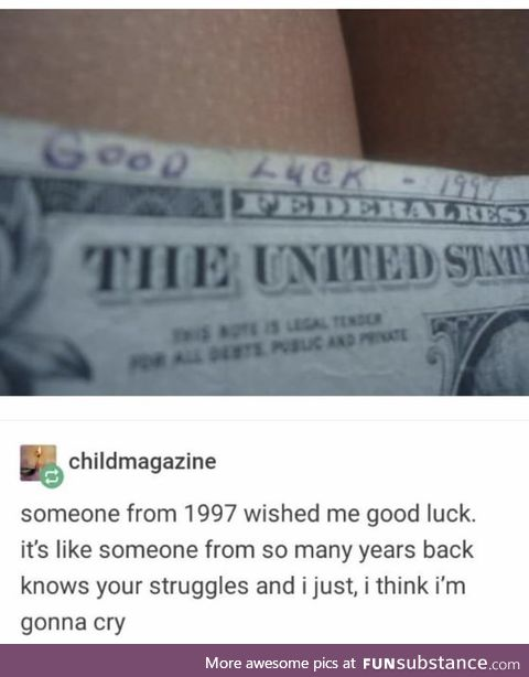 It's the thought that counts