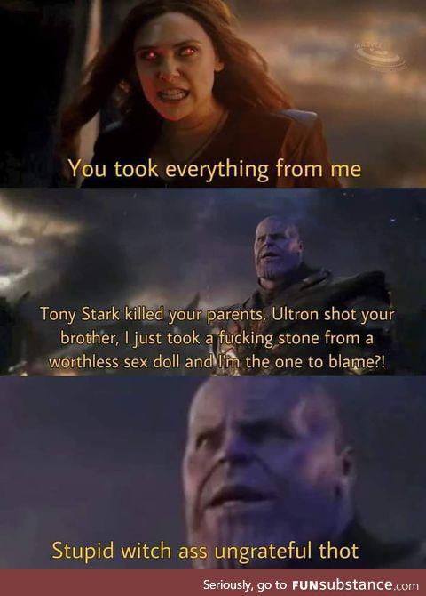 Poor thanos