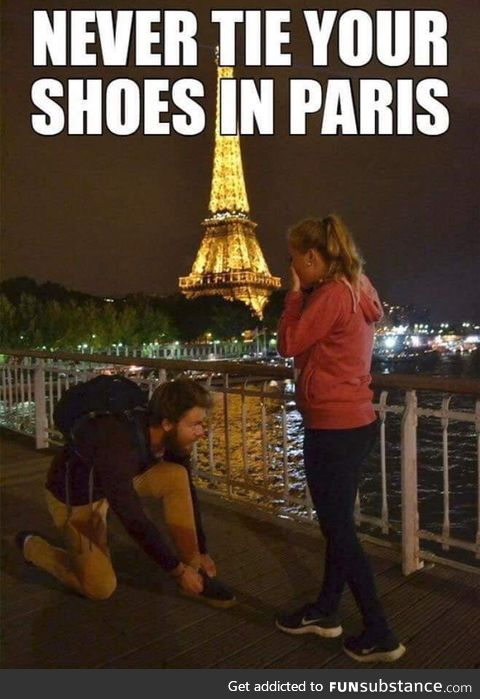 Reminder for a summer vacation in Paris