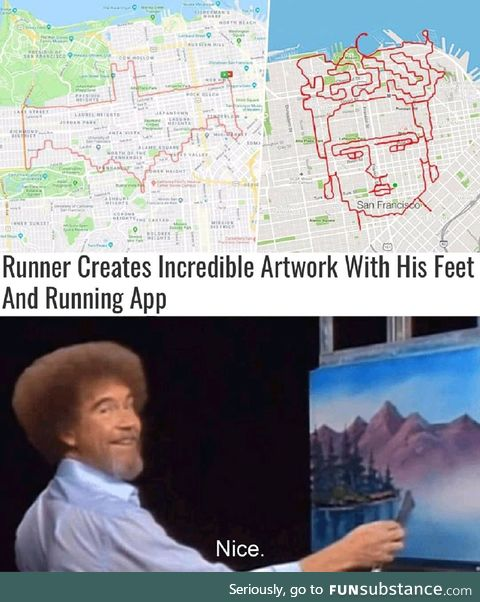 Bob ross approved