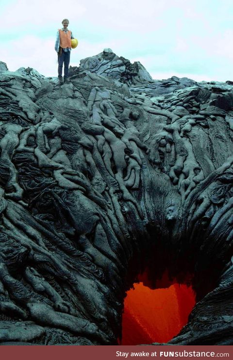 Lava pool? Or the gate to hell?