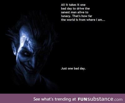 The most iconic Joker quote