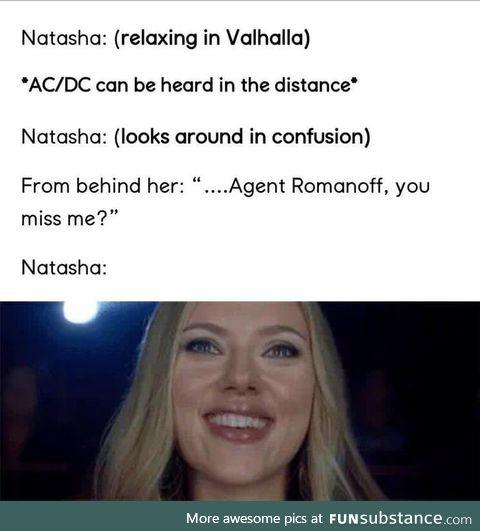 In Valhalla, this happens